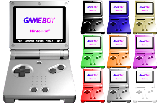 VisualBoy Advance SP VBA Skin by gWorldz