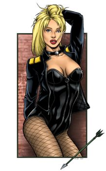 Black Canary Colors by TPollockJR