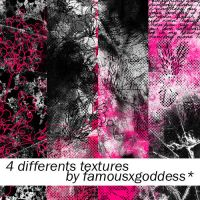 4 different textures by famousxgoddess