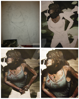 Lara Croft 2 - Tomb Raider 2012 - WIPs by CurlyWurly808