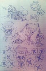 Miguelangel Sketches part 2! by Nicky335