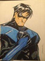 Nightwing JC GRANDE COLORS JEREMY SCULLY by Drakelb