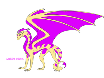 Queen Osiris by SolinTheDragon