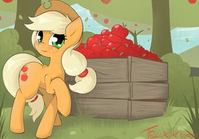 Buy some apples! by TesslaShy
