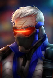 SOLDIER 76 by G4B2TER