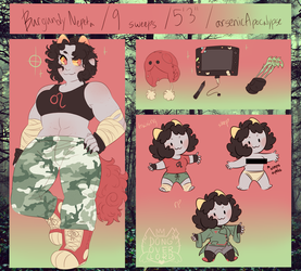 burgundyblood nepeta ref by dongoverlord