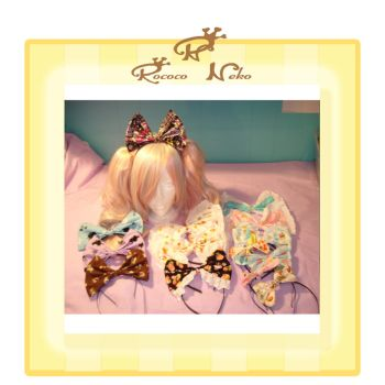 bows collection march 2012 by RococoNeko