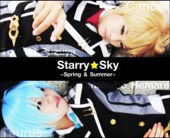COSPLAY : Starry Sky -SH- by basilicum84
