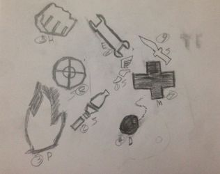 tf2 class emblems pencil drawing by capt-NoOne