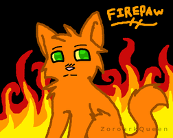 Firepaw: Warrior of The Burning Flames by QueenOfIllusion