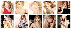 10 icons of Taylor Swift by asyouforget