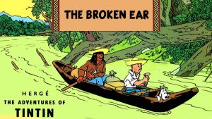 TINTIN: The Broken Ear by JeffreyKitsch