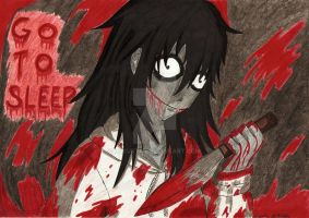 Jeff the Killer 3 (colour) by Lukusta