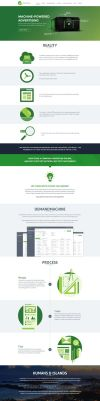 GreenLamp Website Design Mockup by shoahmed