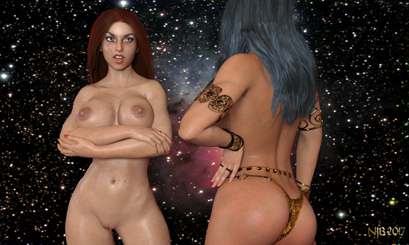 The Enchantress and the Warrior 205 by Nathanomir