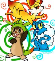 Kalos Starters by SaintsSister47