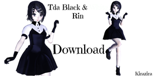 [MMD] Tda Black And White Rin [+DL] by Kirazira