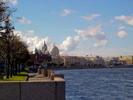 Banks of the Little Neva by seir
