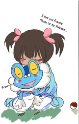 I love you Froakie by UsagiPanda25