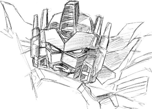 galaxy force prime doodle by beamer