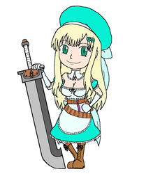 Chibi Giant Swords - Yomi by Twardz