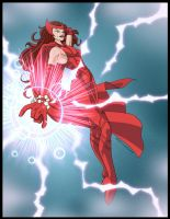 Scarlet Witch by Nerp by singory