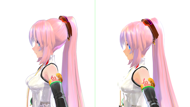 Luka's New Hair Set. Want it? ^-^ by Maddoktor2