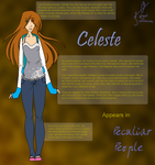 Chara Sheet - Celeste by wingedpaintbrush