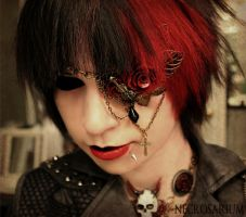 Visual Kei Eyepatch by Necrosarium