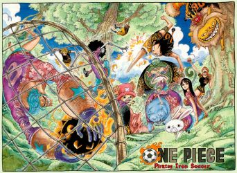 Color Spread in Chapter 582 by Claudia-Cher