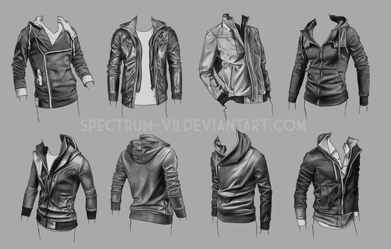 Clothing Study - Jackets 3 by Spectrum-VII