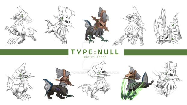 Commission TYPENULL Sketchsheet by zacharybla