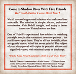 Shadow River Ad Mockup - Fedell Lord of Assassins by Temphis