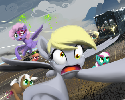 Derpy Deliveries Act 2 Part 3 by MoonlitBrush