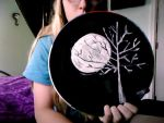 Painted plate-front by musicallyinsane09
