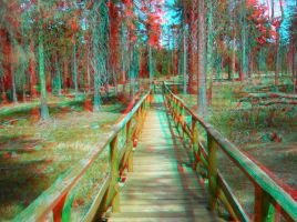 Quo Vadis? 3D Anaglyph by yellowishhaze
