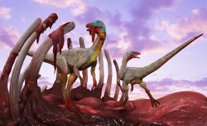 compsognathus by ministerart