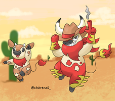 Cowboy (fakemon) by Charenel