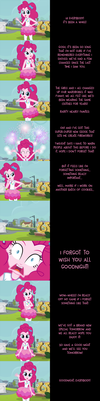 Pinkie Pie Says Goodnight: Forget Me Not by MLP-Silver-Quill