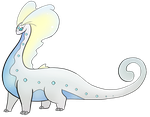 Shiny Aurorus by JustMiri