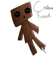 Cardboard friend VENTURIANTALE  by BBrownie1010