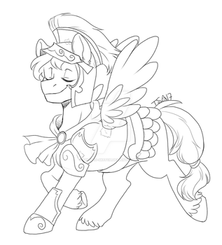 Patreon Sketch Request - Flash Magnus costume by Twisted-Sketch