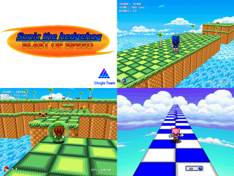 (Fan game download) Sonic Blast of Speed by TheValeev