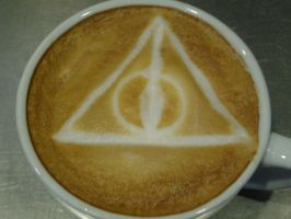 Deathly Hallow Latte by MonkDrew