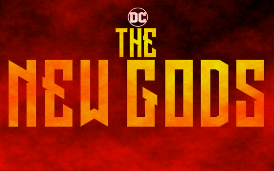 The New Gods Movie Title Card by PaulRom