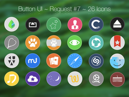 Button UI ~ Requests #7 by BlackVariant