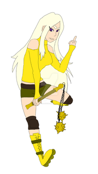 Lemon Creme Flat Colored by OmnomSunshine