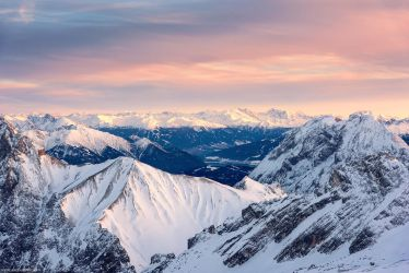 Zugspitze Sunset by Dave-Derbis