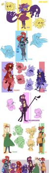 One Shot - Character Set 1 by YAMsgarden