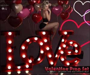 Valentine Prop Set by cosmosue